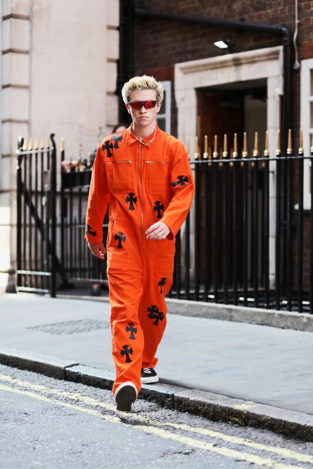 Street style Londra 24 settembre 2020