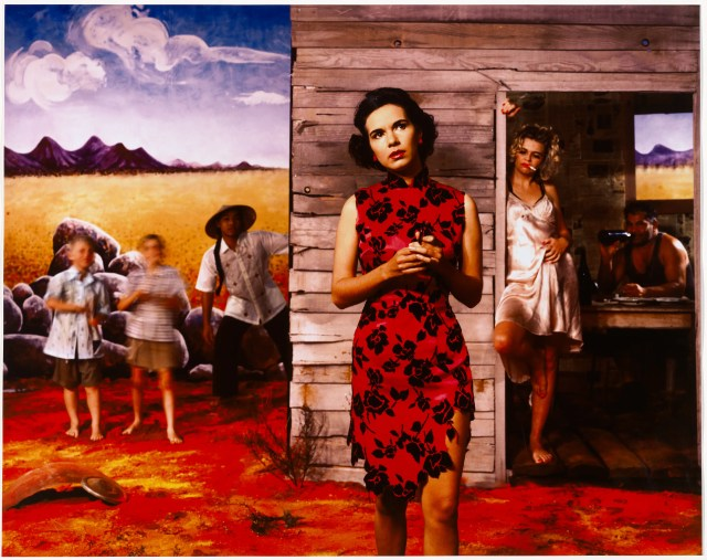 Tracey Moffat. Something more #1 1989. National Gallery of Australia, Canberra. Purchased 1989.
