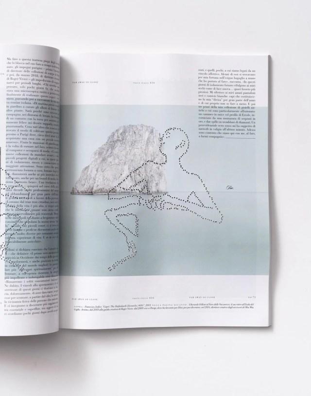Stefano Arienti (interno) Senza titolo, 2020 traforatura su copertina Courtesy l'artista e Studio SALES di Norberto Ruggeri, Roma