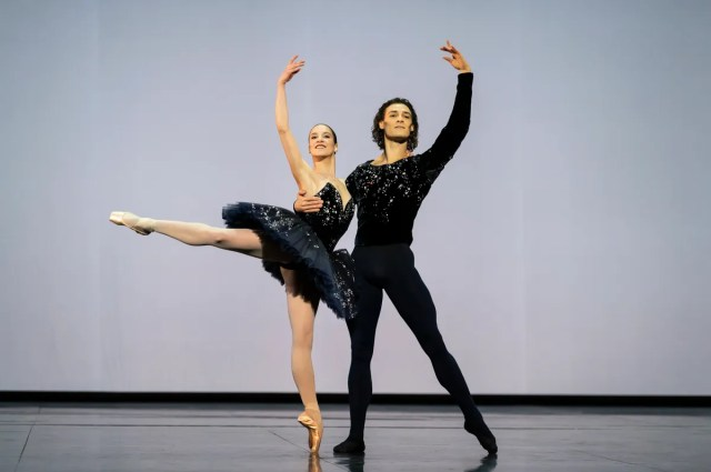 Valentine Colasante e Hugo Marchand