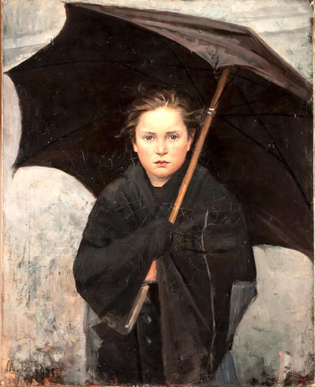 Maria Bashkirtseva, Ombrello, dalla mostra Divine e Avanguardie