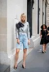 2021 jeans trends: the bermuda models for the summer