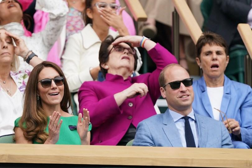 Kate e William a Wimbledon