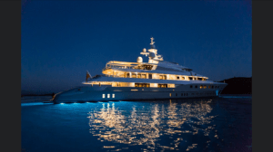 superyacht night