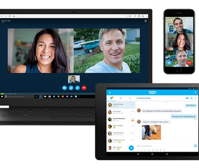 Better Known For Its Audio And Video Capabilities Skype Is Still A Great Way To Quickly Chat With Just Text The Mobile Version Was Recently Revamped