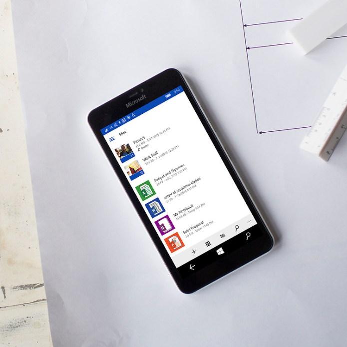 OneDrive saiba como atualizar seu windows phone para o windows 10 mobile