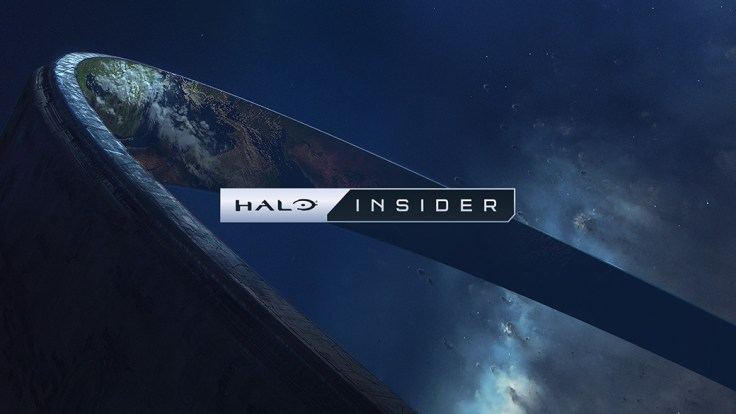 Halo Insider logo over a space background with Halo ring