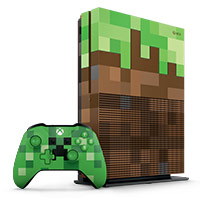 Xbox One S Minecraft Limited Edition Bundle 1TB Xbox