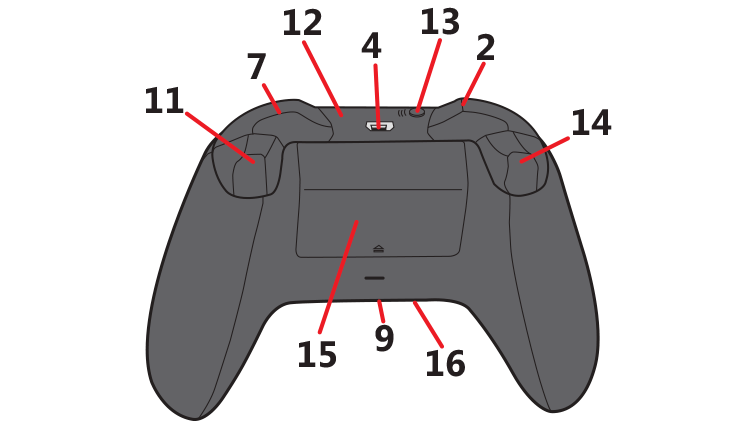 Controle Sem Fio Xbox One