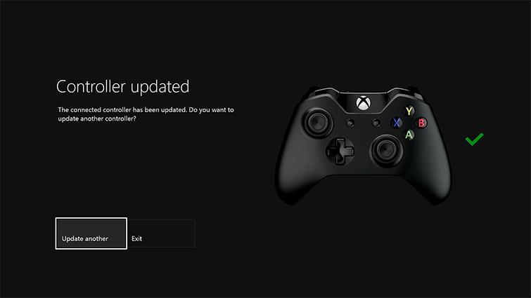 Mise Jour De La Manette Xbox One