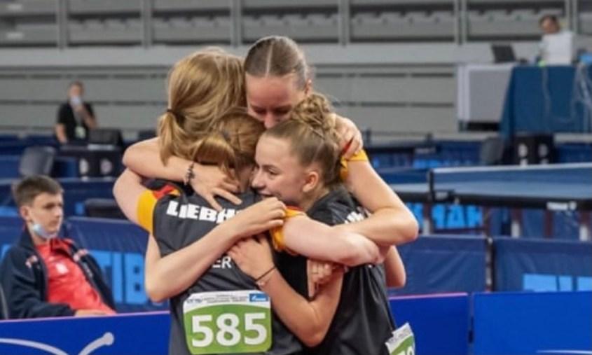 Annett Kaufmann sensationell 3-fache Europameisterin