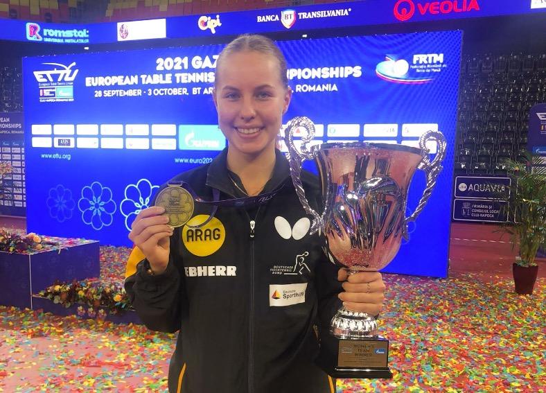 Annett wird mit dem Deutschen Team sensationell Europameister!