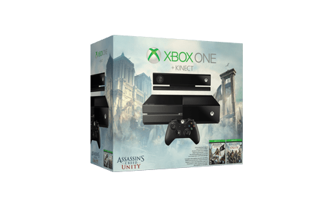 Assassin's Creed Unity with Kinect Xbox One Console Bundle