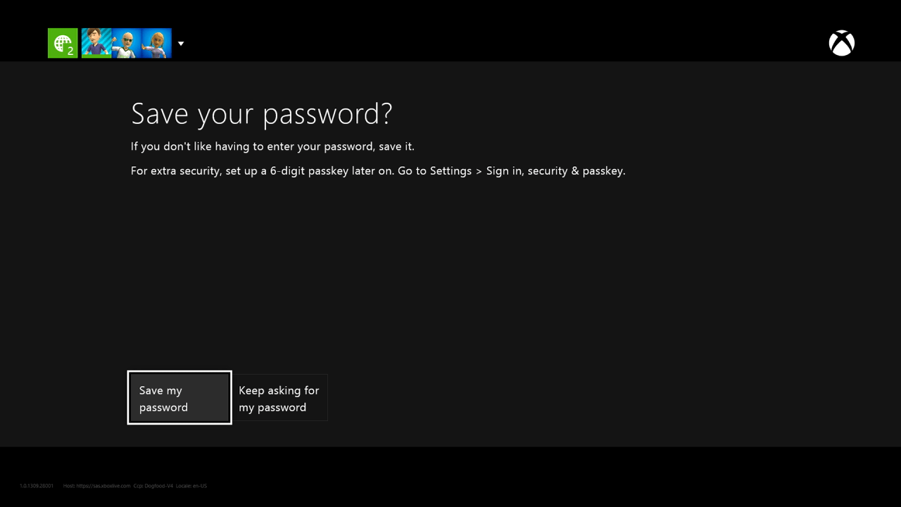 Sign In To A Different Xbox One Console Switch Xbox One