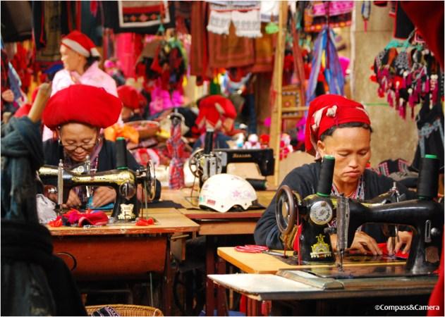 Sa Pa sewing shop