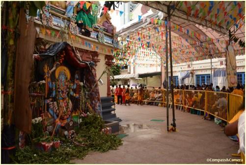 Inside Sri Mariamman Temple