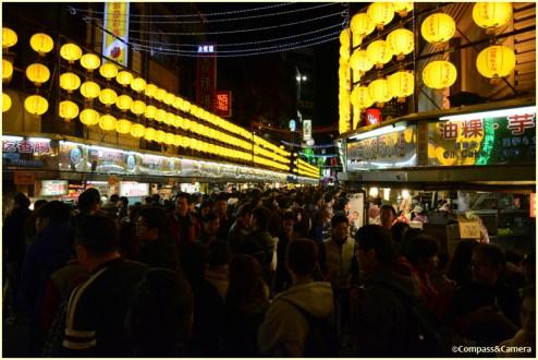 Crowd at Keelung
