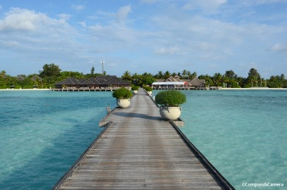 Olhuveli from the jetty