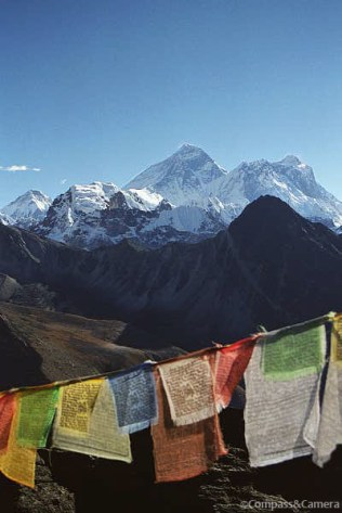 Mount Everest from Gokyo Ri