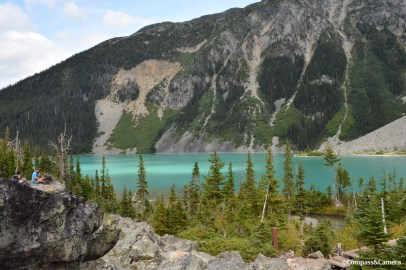 Light and color on Upper Joffre Lake