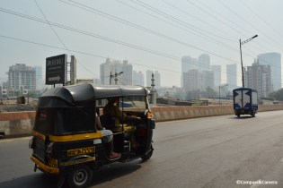 Rickshaw through Mumbai