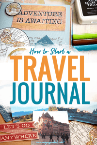 how to start a travel journal