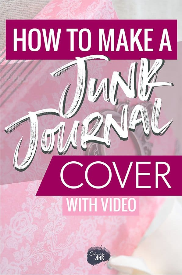 how to make a junk journal cover pin