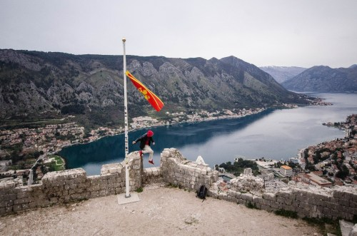 Parkour at Kotor