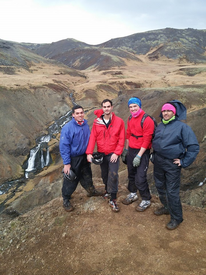 Adventurous Chaps in Iceland