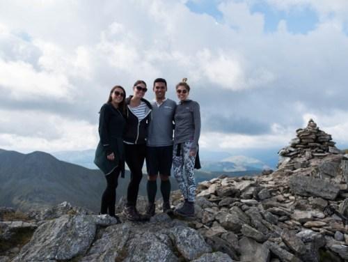 On top of Ben Vorlich