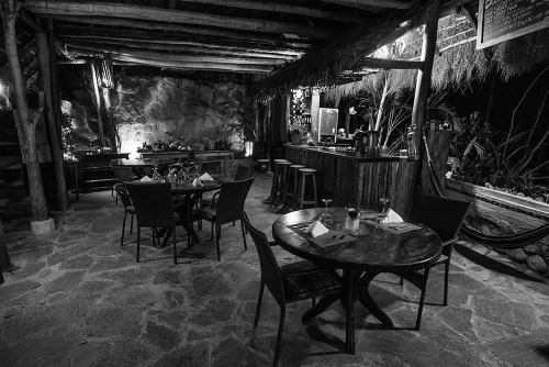 Eco Quechua's restaurant and dining room