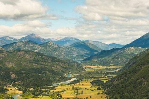 Futaleufu and valley