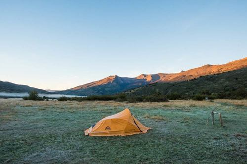 Tents in Patagonia