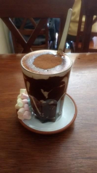 Amazing hot chocolate at Jack's
