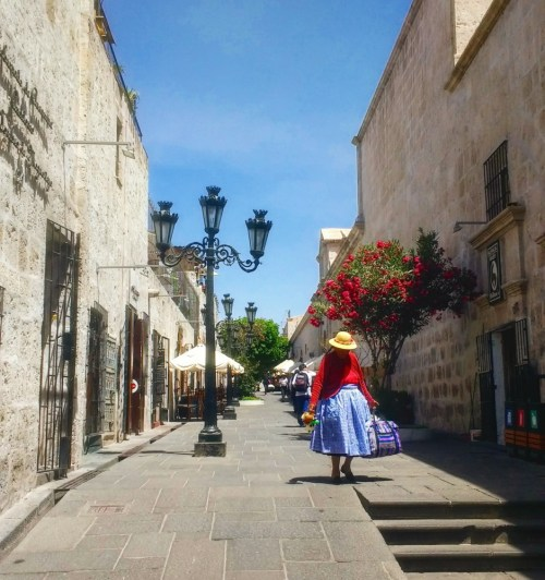 Arequipa's colonial-style streets