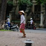 A Young Girl in Hanoi