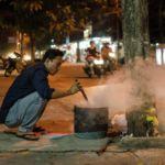 Evening Fires in Hoi An