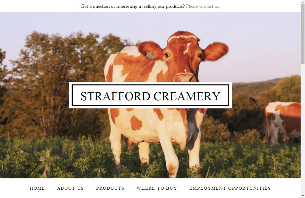 Strafford Organic Creamery