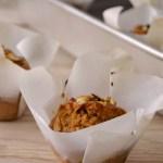 Bolinhos de cenoura, centeio e gengibre // Carrot rye ginger muffins