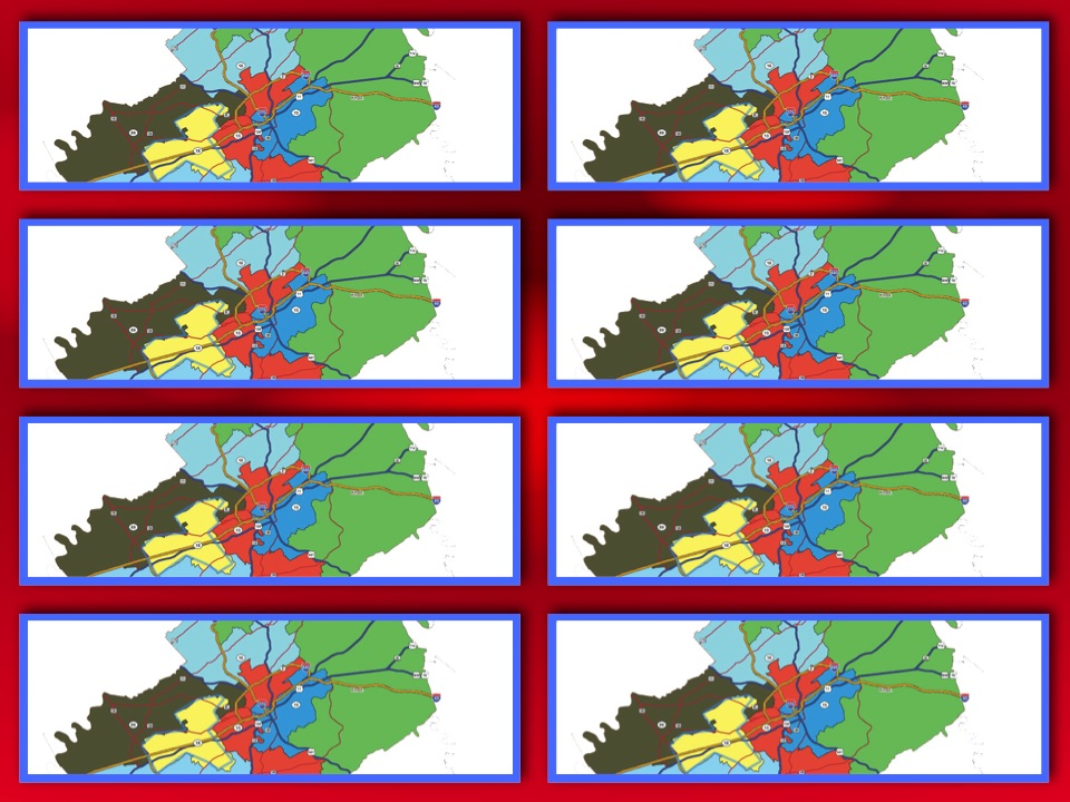 Knox County Legislative map