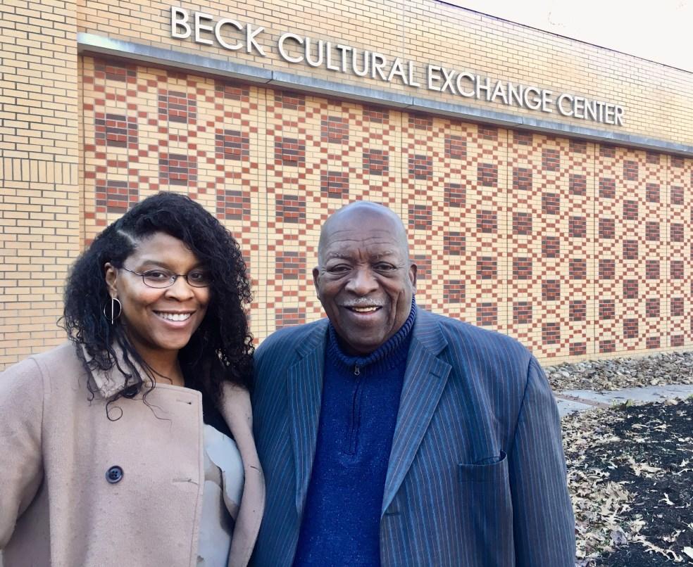 LaKenya and the Rev. Harold Middlebrook