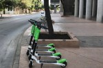 Lime Scooters in Austin, Texas.