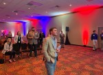 Election night at Mannis party
