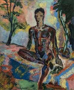 """""""Scattered Light,"""" Beauford Delaney, 1964."""