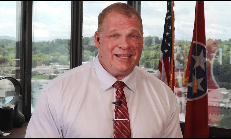 Mayor Glenn Jacobs