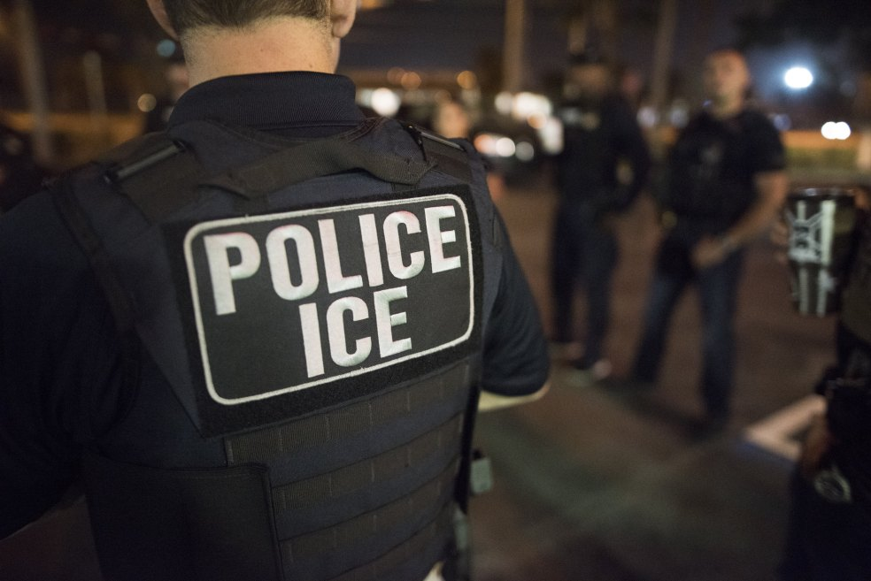 ICE officer
