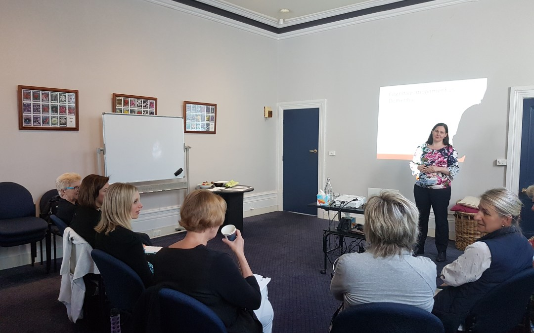 A recent presentation to members of the Australian Psychological Society