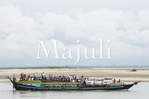 Majuli Island in the Bramaputra River