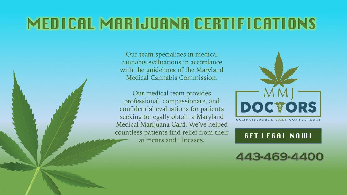 Medical Marijuana Certification Process in Maryland – Compassionate ...