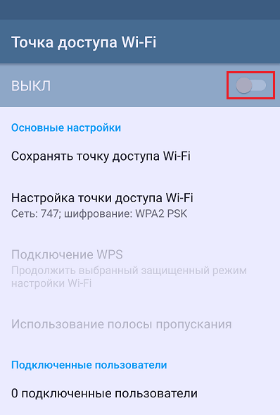 Wi-Fi-åtkomstpunkt